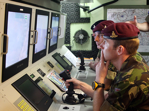The British Army uses NSC's custom-built Base ISTAR [intelligence, surveillance, target acquisition and reconnaissance] training systems.