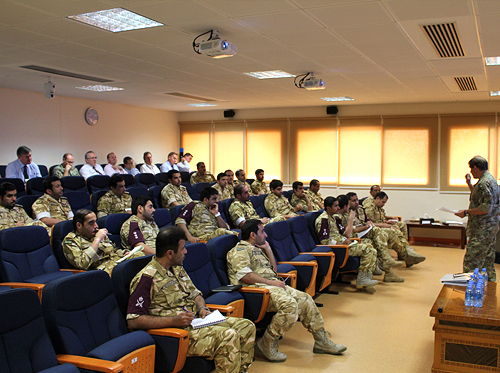 NSC has run successful training courses in the Middle East year after year