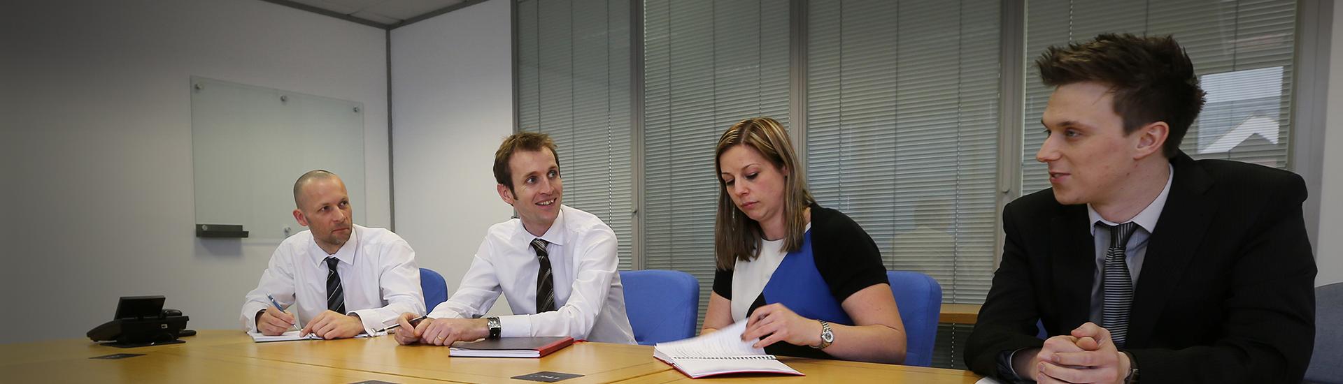 NSC Staff in boardroom