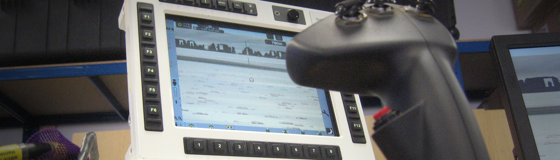 ADWS controller and screen